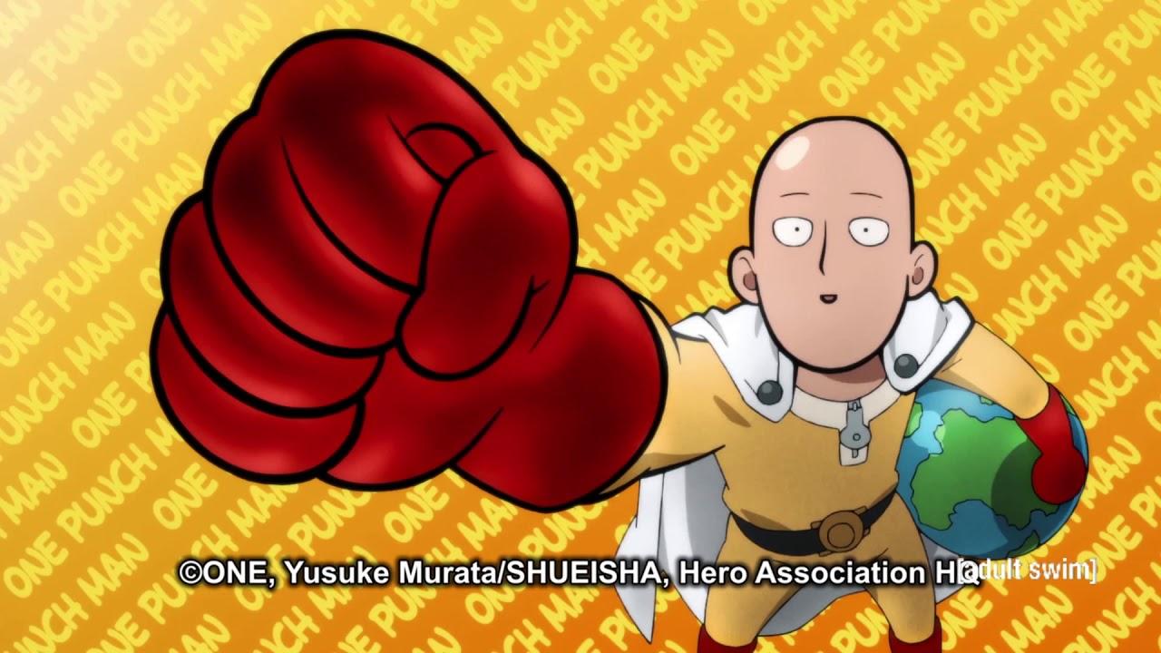 One Punch Man Season 2 Opening Ending Us Toonami Edit Youtube