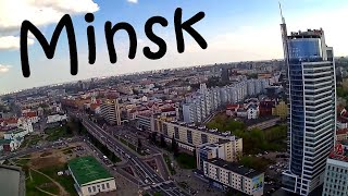 Minsk, Belarus, points of interest and panorama of the city