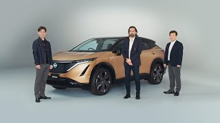 Nissan Ariya: Introducing our all-new electric crossover