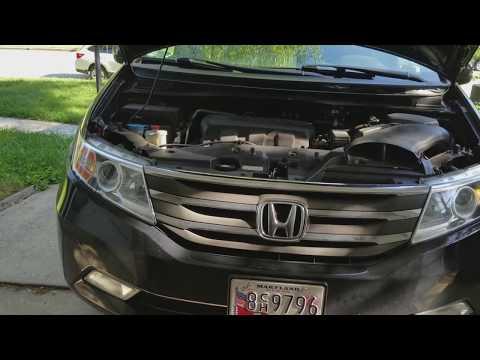2011 - 2017 Honda Odyssey PCV valve replacement (4th gen)