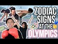 Zodiac Signs at the 2016 World Olympic