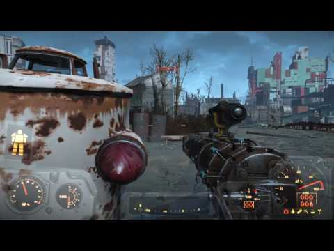 Fallout 4 with all expansion packs SURVIVAL mode Pt 27