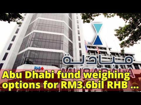 Abu Dhabi fund weighing options for RM3.6bil RHB stake