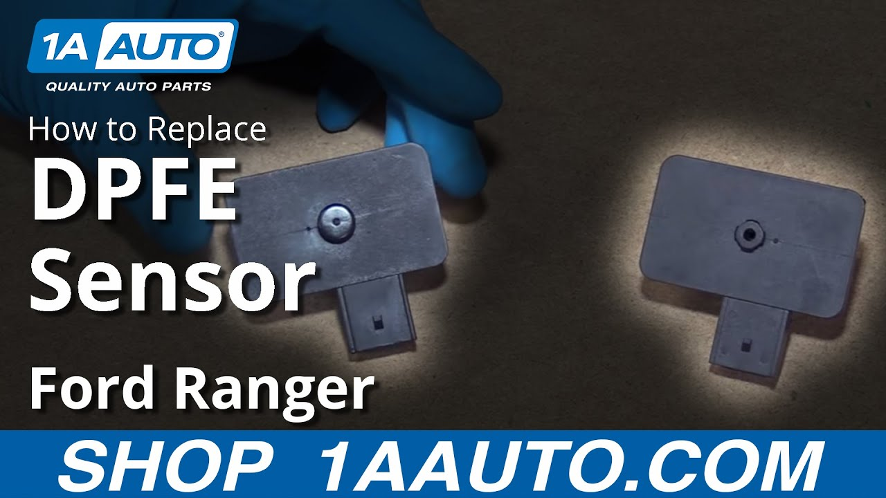 how to install replace egr pressure feedback sensor dpfe 2001 02 rh youtube com 2001 Ford Ranger EGR Problems Reverse Sensors Ford Explorer