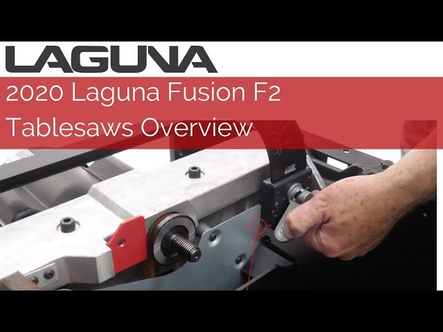 2020 F2 Fusion Tablesaw Overview | Laguna Tools
