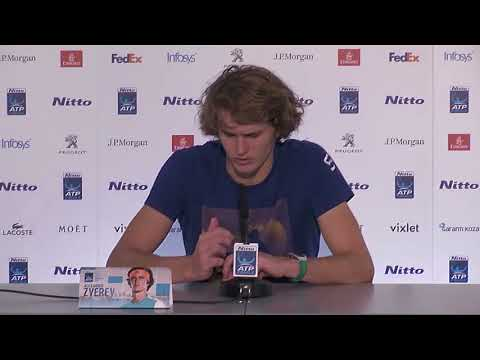 Zverev ATP world tour Press conference   Frustrated Interview