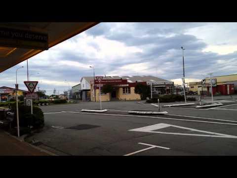 Cyclone Ita in Greymouth, New Zealand 17 April2014