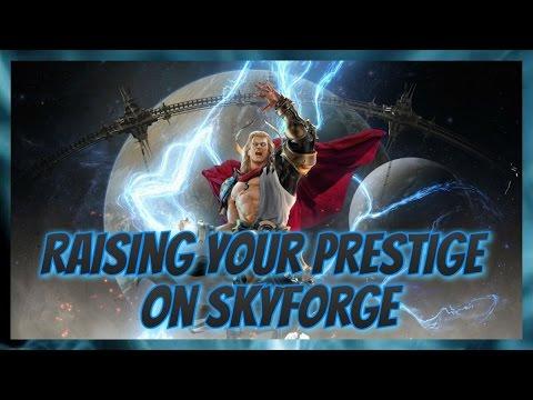 How To Get Prestige Up On Skyforge Ps4