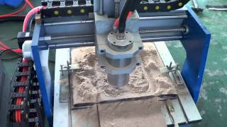 0404 Cnc Router Demo: MDF Wood Relief, China Cnc Router