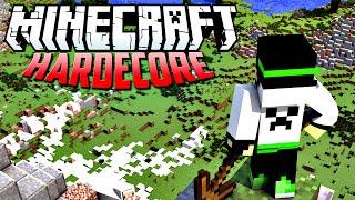 Minecraft HardCore - Primeira noite