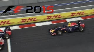 F1 2015 - Russia GP - Kwjat Red Bull Gameplay [ HD ]