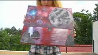 Nebulae paintings