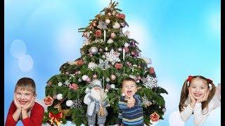 Richard decorating Christmas Tree 2019