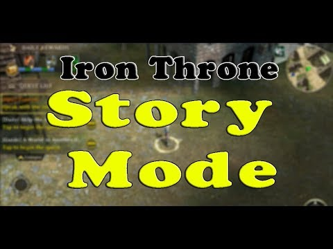 Iron Throne Live Stream | Playing Through Story Mode