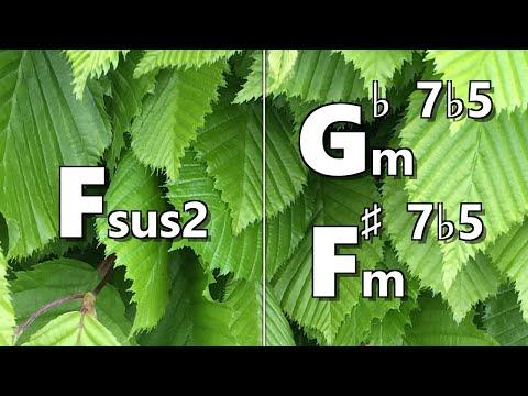 Fsus2 to Gbm7b5