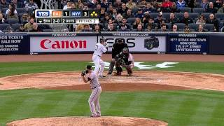 YANKEES HOME OPENER - April 07, 2014