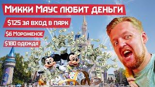 Отдал Микки Маусу последние деньги. Диснейворлд во Флориде. Мигрант в США накопил на отпуск.