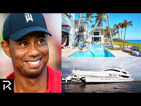 How Tiger Woods Spent $800 Million!
