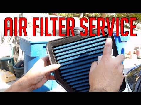 [DIY] Intake Air Filter Replacement or Cleaning for Lexus GS, IS, 350, 250