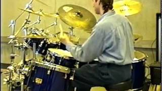 Rudiments Applied to the Drumset DVD Excerpts by Garey Williams
