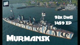 World of Warships Live | Murmansk | 92K dmg ist doch solide | #97 [ Deutsch | Gameplay ](Let's Play World of Warships (WoWs) | Gameplay auf German / Deutsch - Hier seht ihr nun ein Video mit einigen Tipps und Tricks: Die Murmansk ist immer ..., 2016-02-16T13:00:02.000Z)