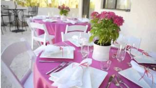 Table Decorations For Weddings