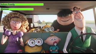 Minions (2015) Police Chase with healthbars