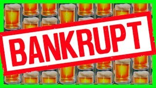 HEIDI FILES FOR BANKRUPTCY! She Pours TO MUCH WILD BEER for SDGuy1234