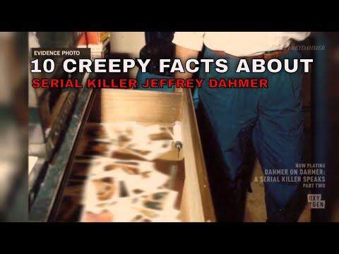 10 CREEPIEST FACTS ABOUT SERIAL KILLER JEFFREY DAHMER