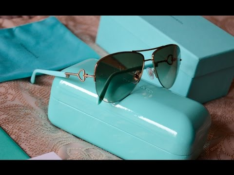 Tiffany & Co | Unboxing & Review | TF3046 Aviator Sunglasses