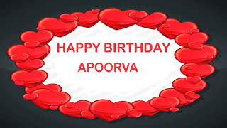 Apoorva   Birthday Postcards & Postales - Happy Birthday