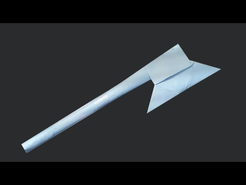 How To Make Origami  Paper Axe || DIY Paper Art || Art Collection