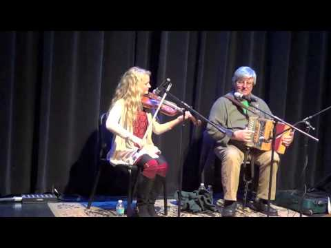 John Whelan and Haley playing John's Celtic Rag with a little improv by Haley