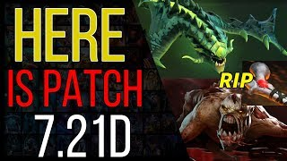 Dota 2 Patch 7.21D is here - RIP rod of atos, lifestealer and VIPER