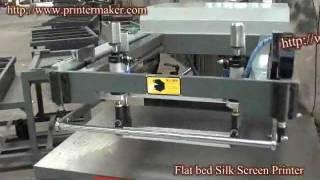 Flat Bed Screen Printer,plane Screen Printer,china Flat Bed Screen Printer