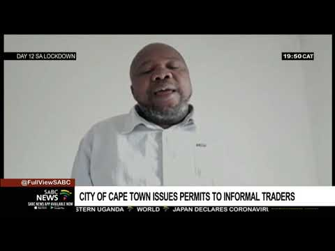 City Of Cape Town Issues Permits To Informal Traders