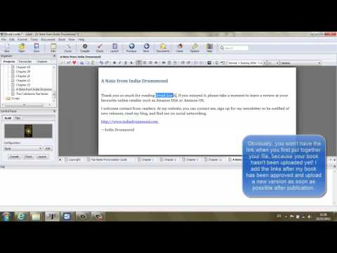 How to Format .epub and .mobi (Kindle) Ebook Files