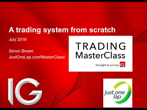 A complete CFD share trading system