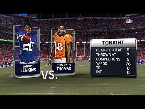 Demaryius Thomas vs Janoris Jenkins (2017) | WR vs CB Matchup