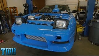 THE ENGINE IS IN!-PROJECT 240SMURRFX(Ep.24)