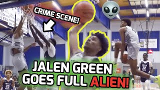 #1 Ranked Jalen Green COMING FOR HEADS! McDonald's All American Drops 36 While Dunking EVERYTHING 🍿