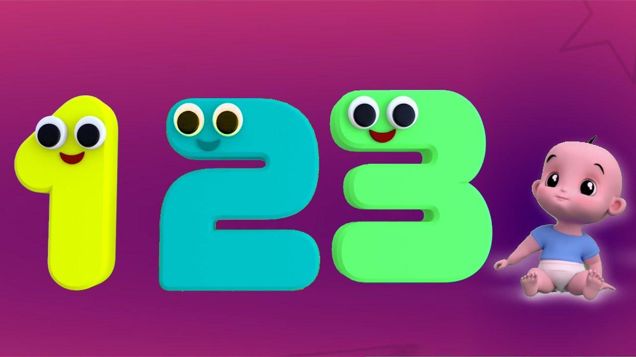 Nomor lagu | Nomor untuk anak-anak | Lagu anak-anak | Educational Song | Learn Numbers Song 1 To 10