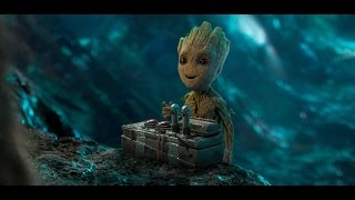 Baby Groot All Funny Clip  Guardians of the Galaxy 2017