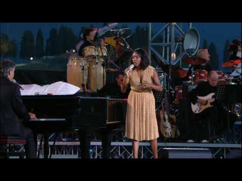 ANDREA BOCELLI HQ & HEATHER HEADLEY  VIVO PER LEI  THE PRAYER