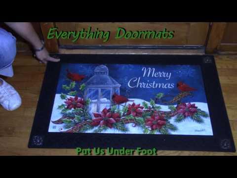 Cardinal Christmas MatMate Insert Doormat - 18 x 30