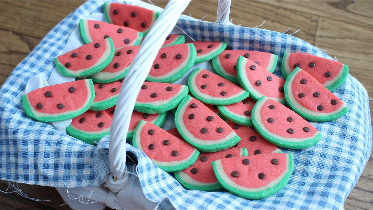 Watermelon Cookie Cake