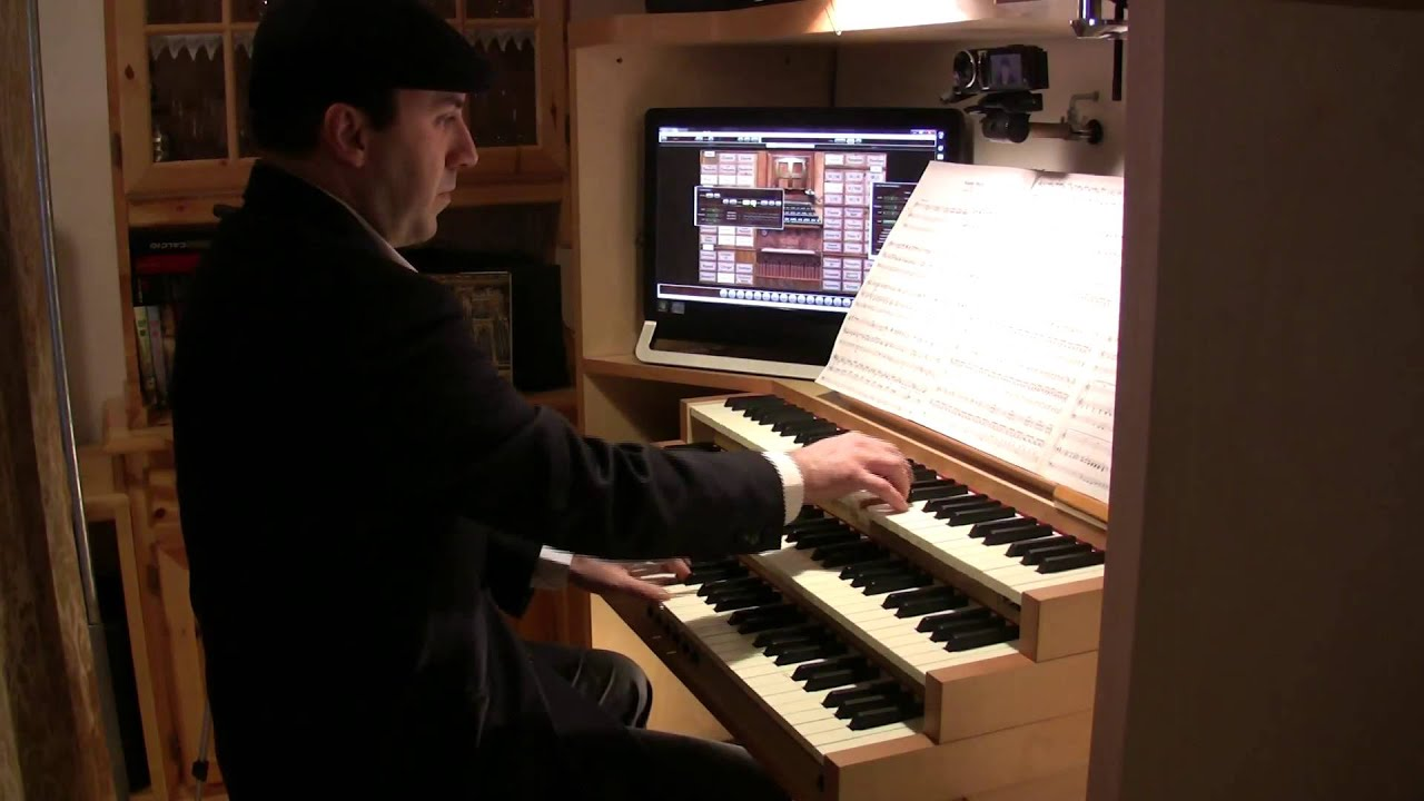 how to play wedding march on organ