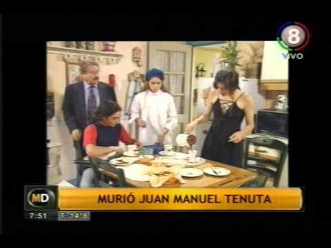 Falleció Juan Manuel Tenuta