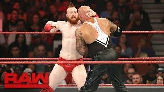 Cesaro & Sheamus vs. Luke Gallows & Karl Anderson: Raw, Dec. 5, 2016