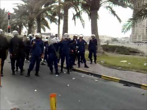 Bahrain Financial Harbor Attack.wmv